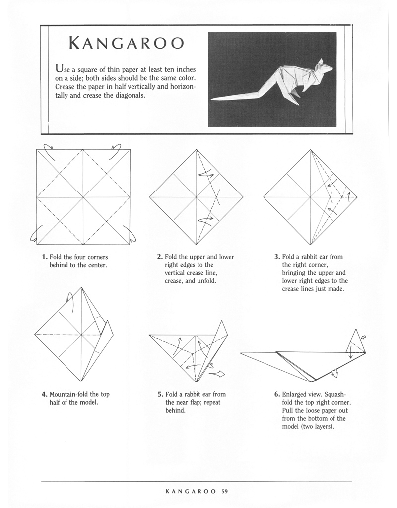 How To Make A Origami Griffin
