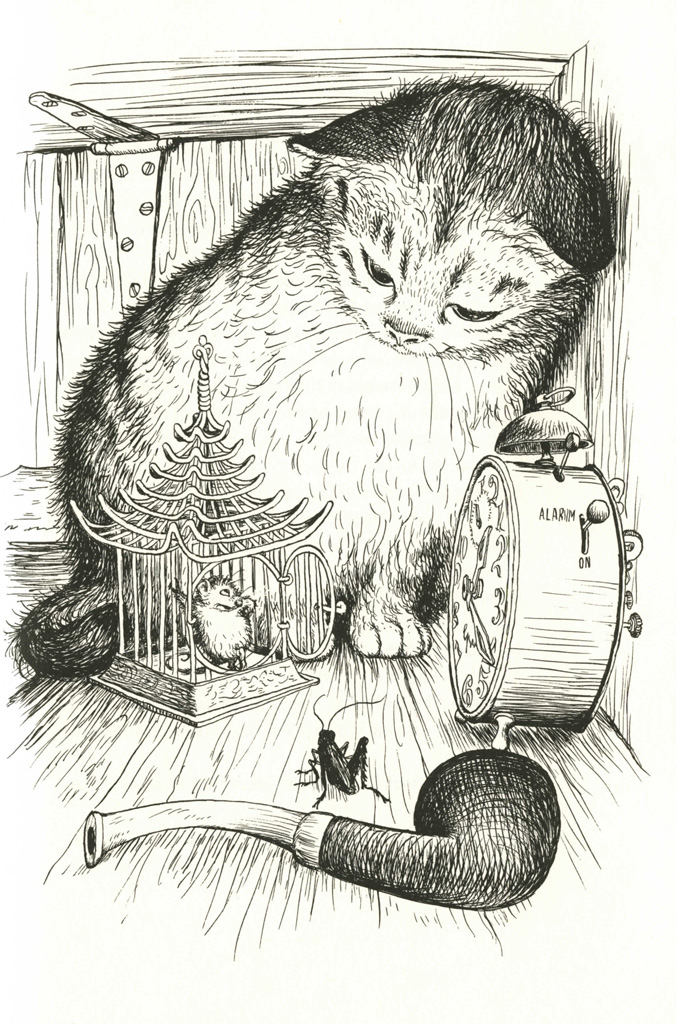 chester the cat coloring pages - photo#33