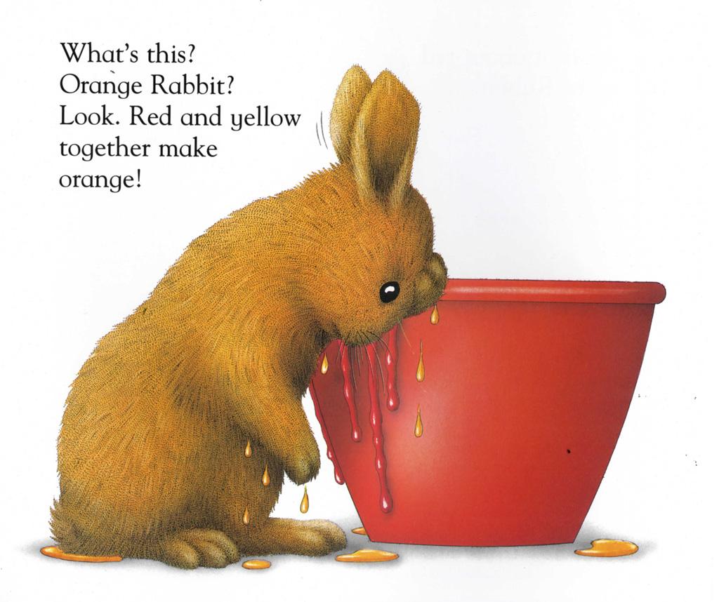 picture book hare colored - photo #30