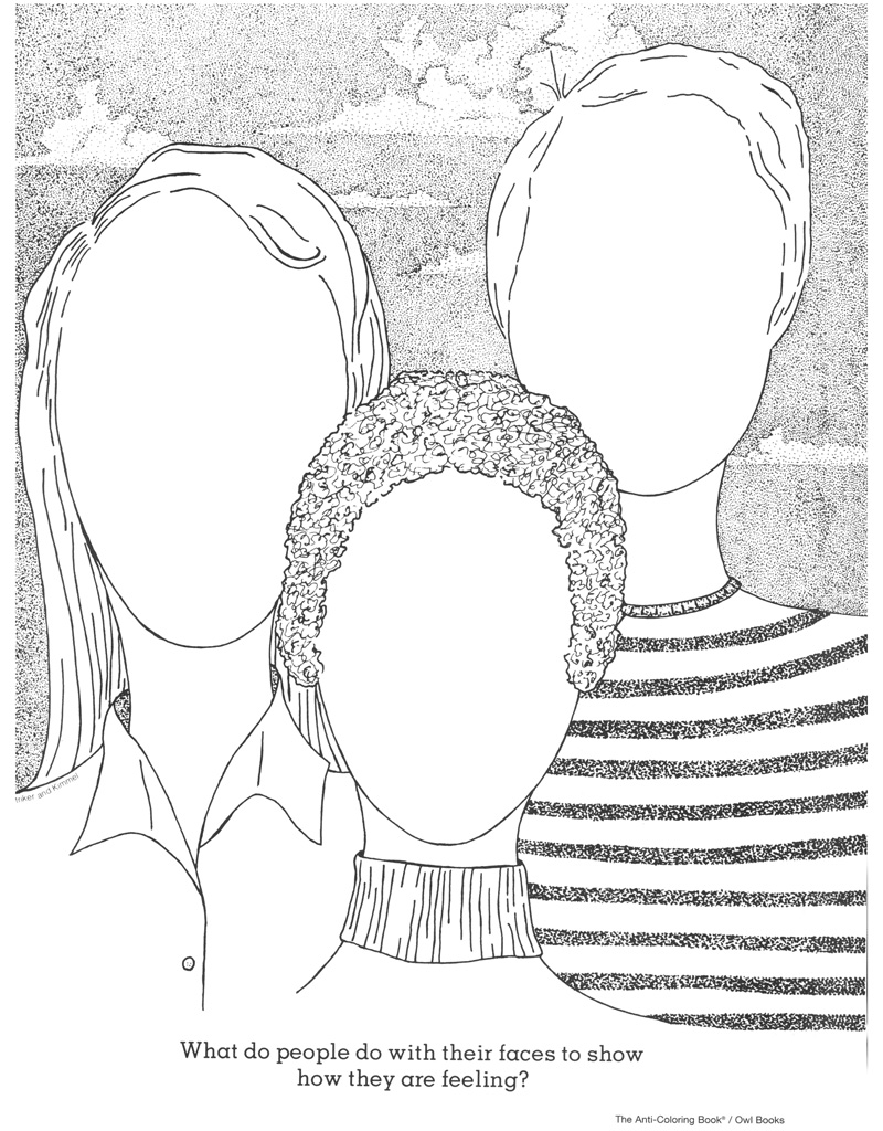 anti coloring book pages - photo#1