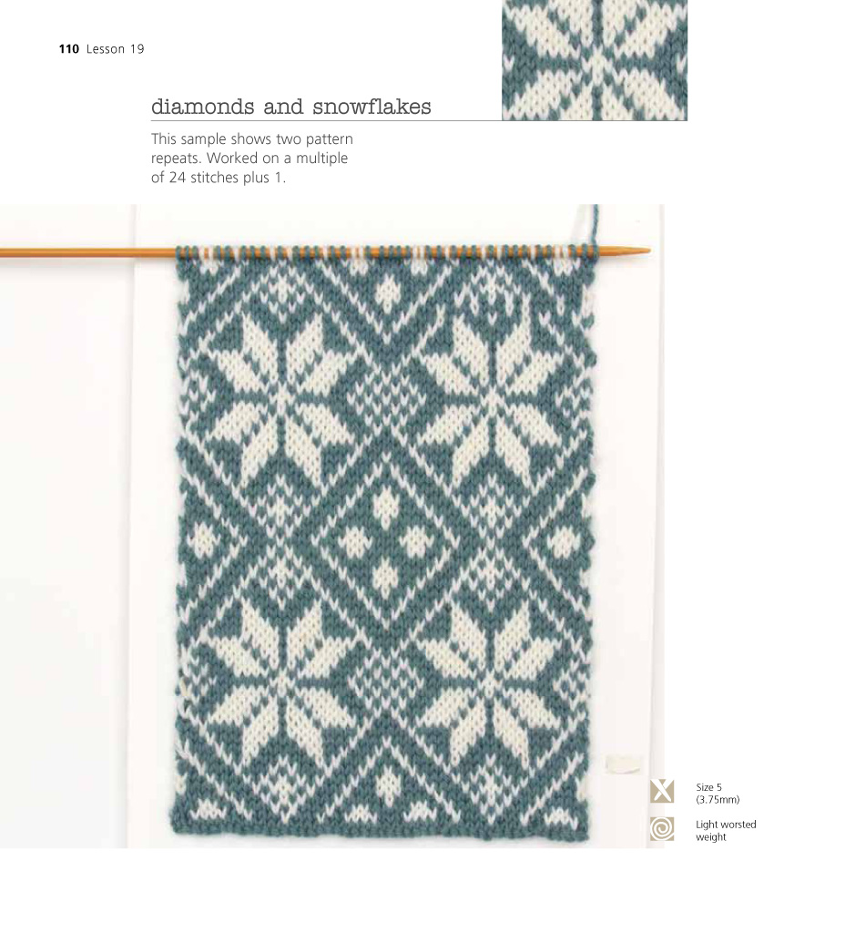 The Very Easy Guide to Fair Isle Knitting Lynne Watterson Macmillan