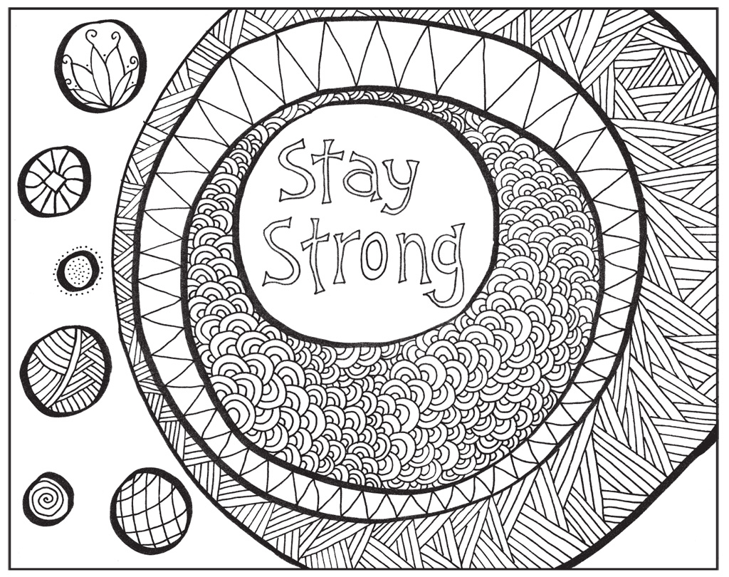 Zendoodle Coloring Uplifting Inspirations Justine