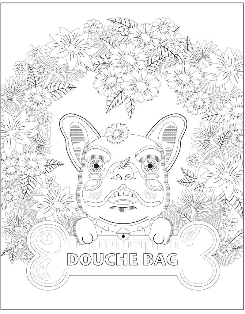 swear coloring book pages - photo#15