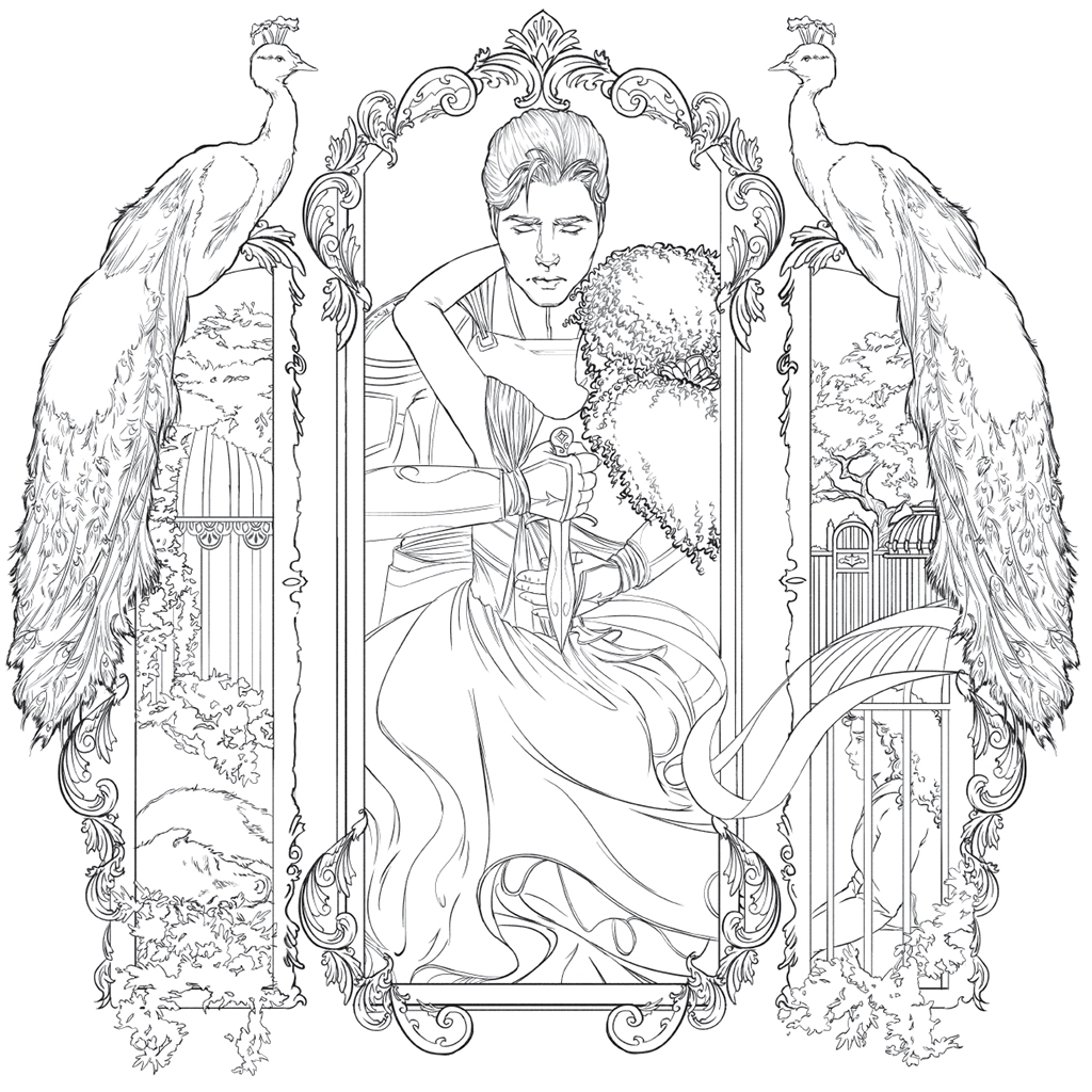 Lunar Chronicles Coloring Pages