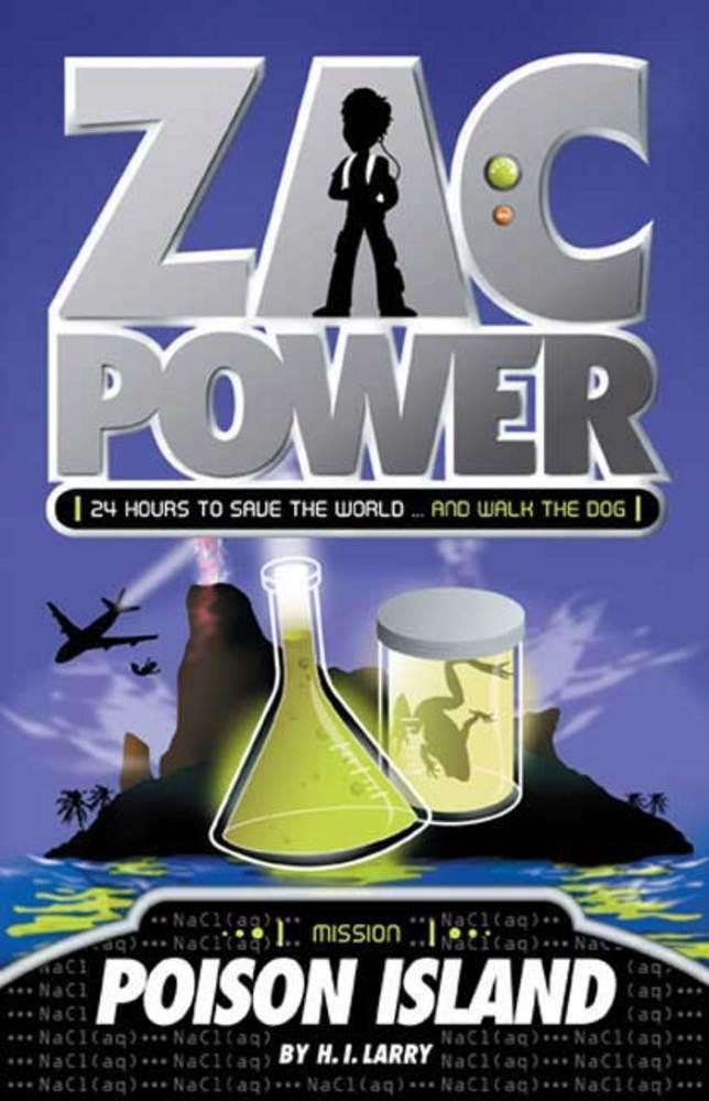 H. I. Larry Zac Power 11 Book Bulk Bundle