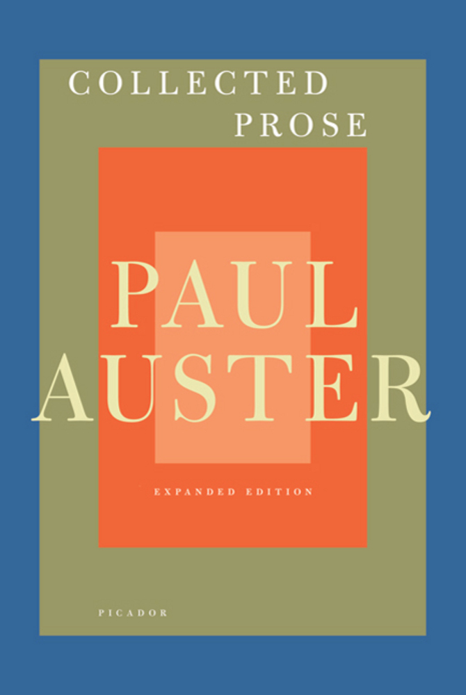 paul auster essays This is the story of marco stanley fogg, an orphan searching for love, his father and the key to the riddle of his origin and fate marco's mother was killed in a car accident when he was.