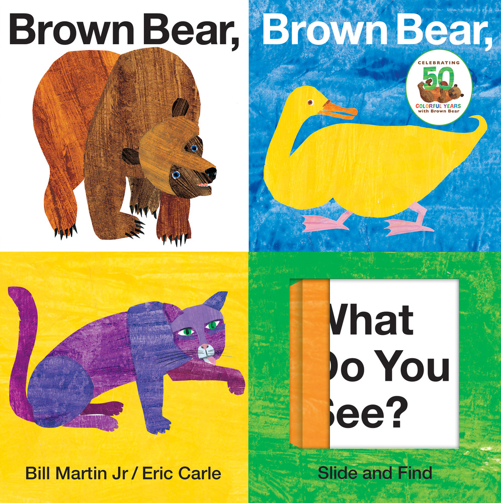 Brown Bear, Brown Bear, What Do You See? Slide and Find | Bill Martin ...