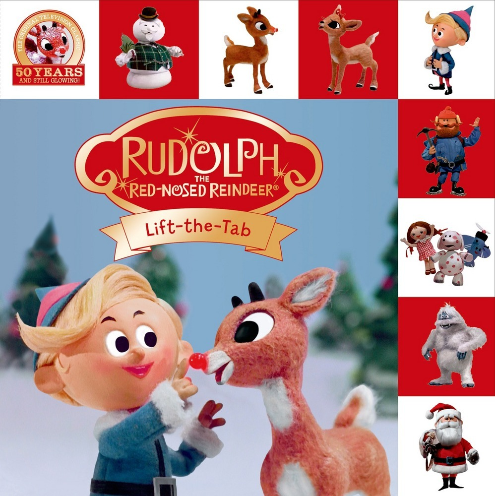 Rudolph the Red-Nosed Reindeer Lift-the-Tab : Roger Priddy : Macmillan