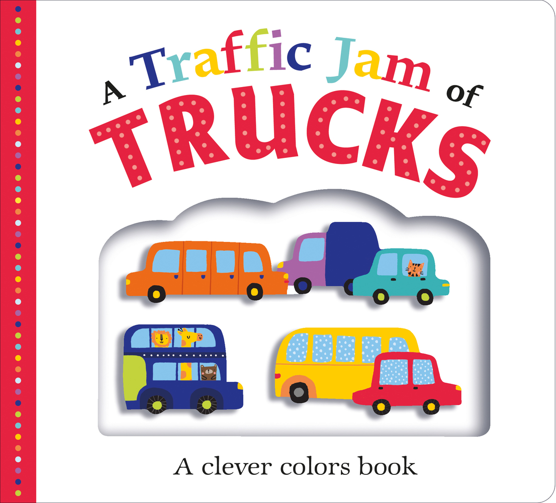 Picture Fit Board Books: A Traffic Jam of Trucks
