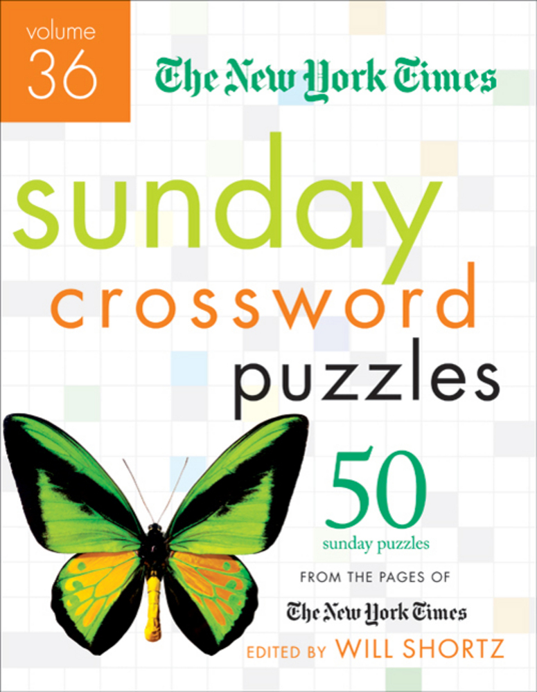 The New York Times Sunday Crossword Puzzles Volume 36