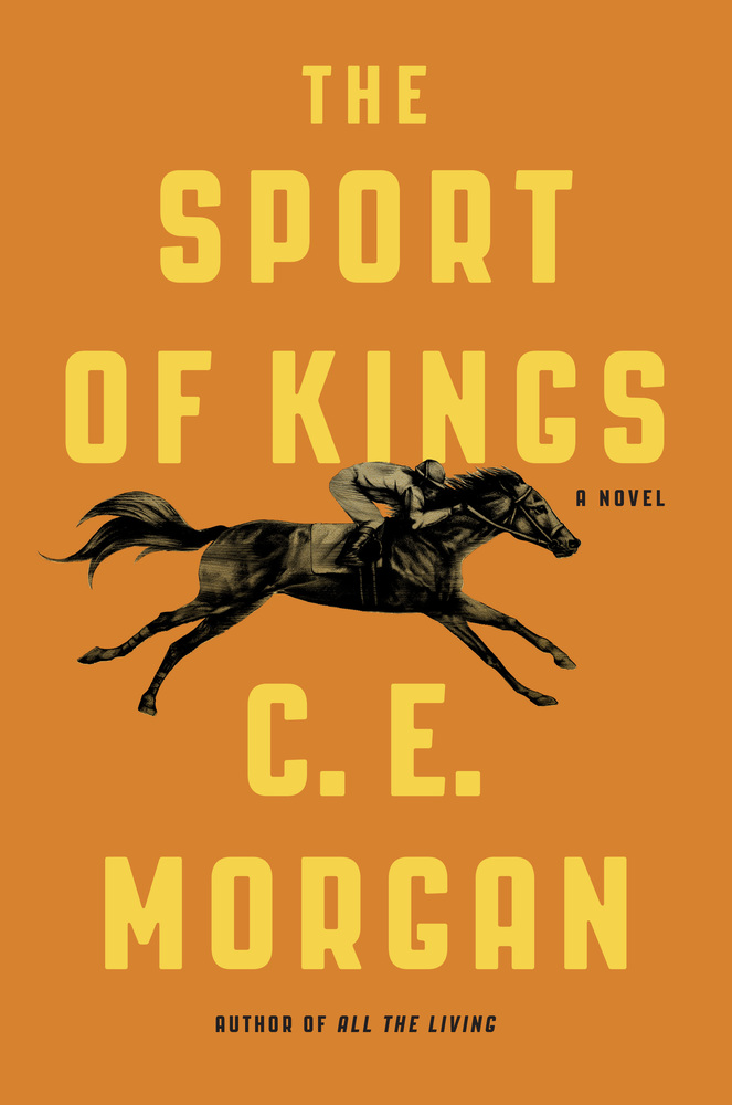 sport of kings cover showing jockey on racing horse