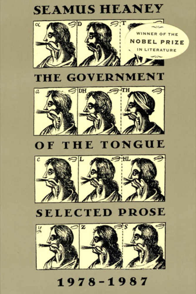 Seamus Heaney government of the tongue