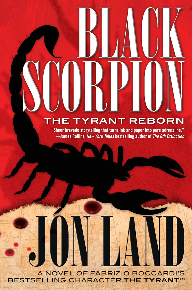 Black Scorpion by Jon Land; created by Fabrizio Boccardi