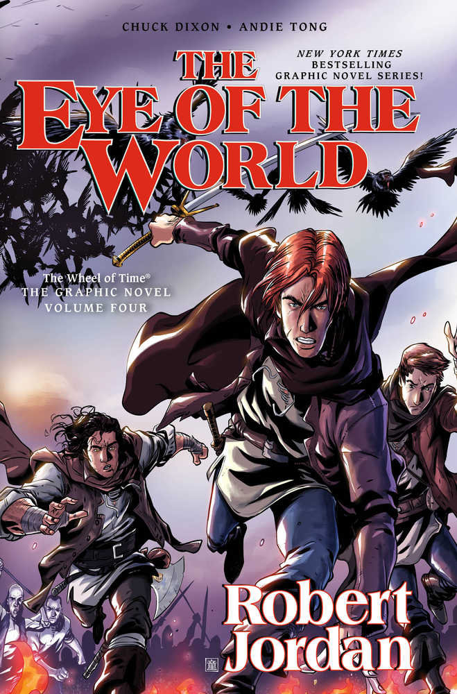 The Eye of the World: Graphic Novel Volume 4 by Chuck Dixon, illustrated by Andie Tong