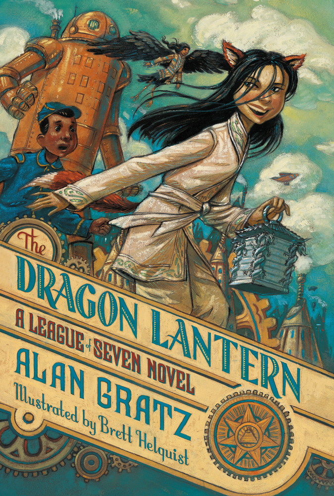 The Dragon Lantern by Alan Gratz