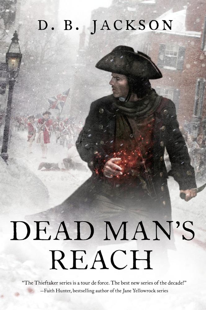 Dead Man's Reach by D.B. Jackson