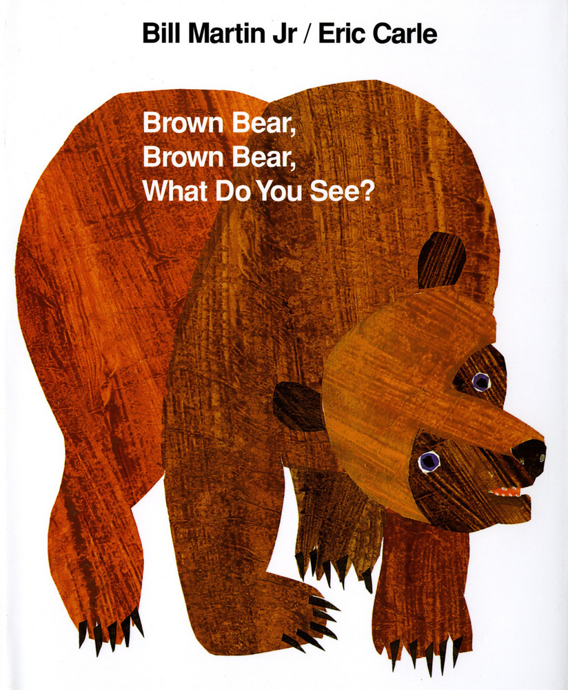 「Brown Bear, Brown Bear, What Do You See? book」の画像検索結果