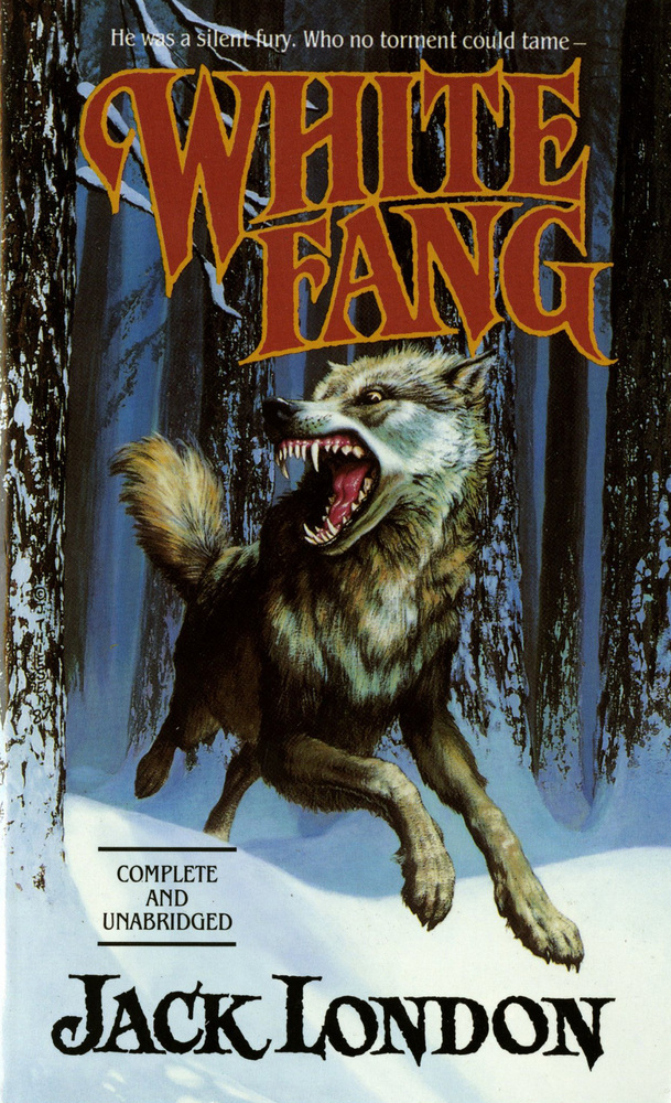 White Fang Book Cover : White fang jack london macmillan
