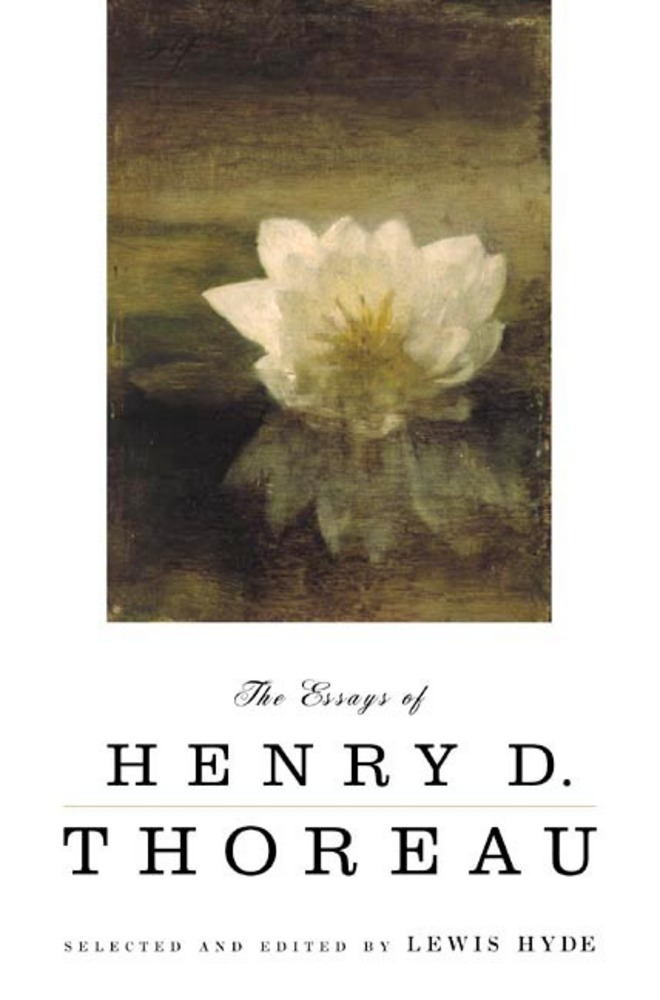 thoreau essays amazon Henry david thoreau's journal was his life's work: the daily practice of writing that accompanied his daily walks, the workshop where he developed his books and essays, and a project in its own right—one of the most intensive explorations ever made of the everyday environment, the revolving seasons, and the changing.