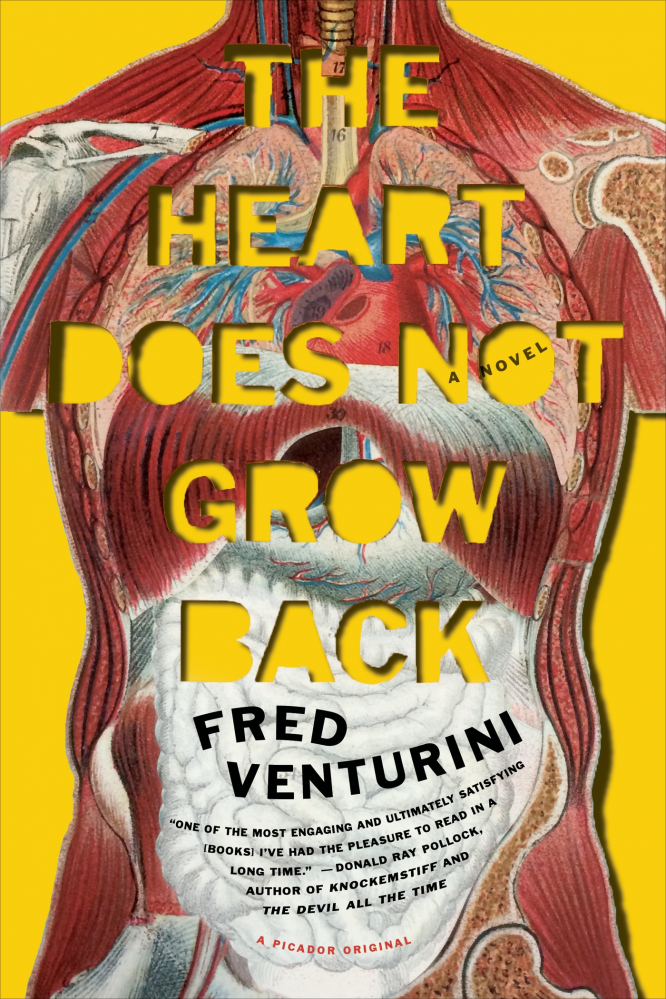 The Heart Does Not Grow Back by Fred Venturini