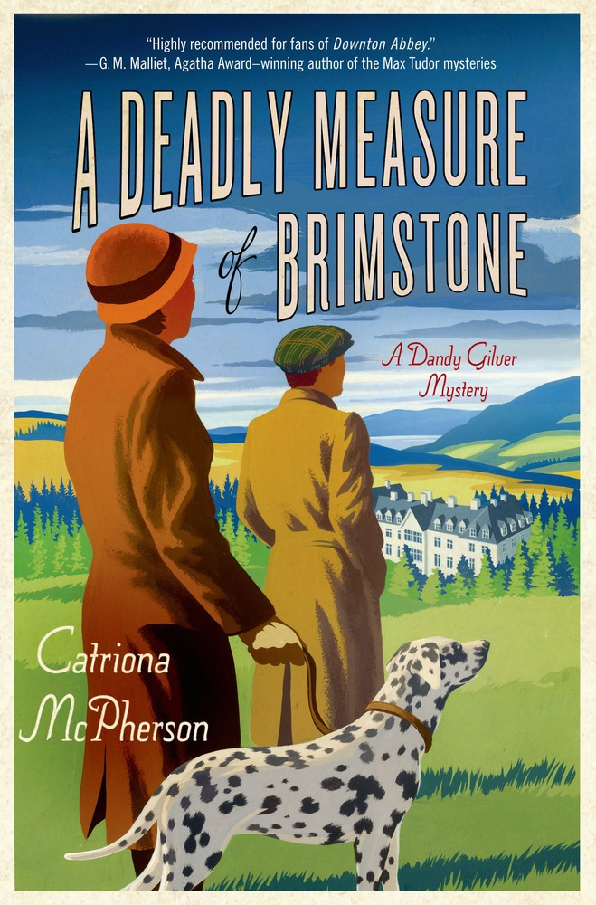 A Deadly Measure of Brimstone book cover