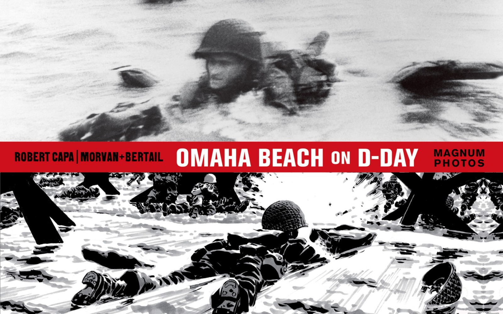 Image result for Omaha Beach on D-Day Capa