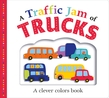 Picture Fit Board Books: A Traffic Jam of Trucks (Large)