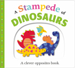 Picture Fit Board Books: A Stampede of Dinosaurs (Large)