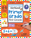 Wipe Clean: Bilingual Workbook for First Grade