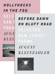 Before Dawn on Bluff Road / Hollyhocks in the Fog