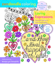 Zendoodle Coloring: Loving Expressions