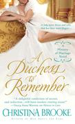 A Duchess to Remember