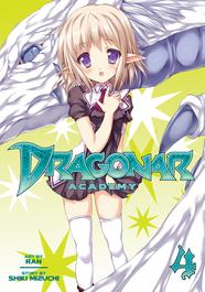 Dragonar Academy Vol. 4 byShiki Mizuchi; art by Ran