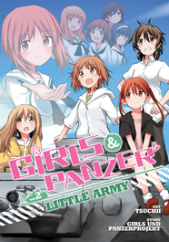 Girls Und Panzer: Little Army Vol. 2 by Girls Und Panzer Projekt and Tsuchii