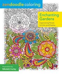 Zendoodle Coloring: Enchanting Gardens