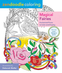Zendoodle Coloring: Magical Fairies
