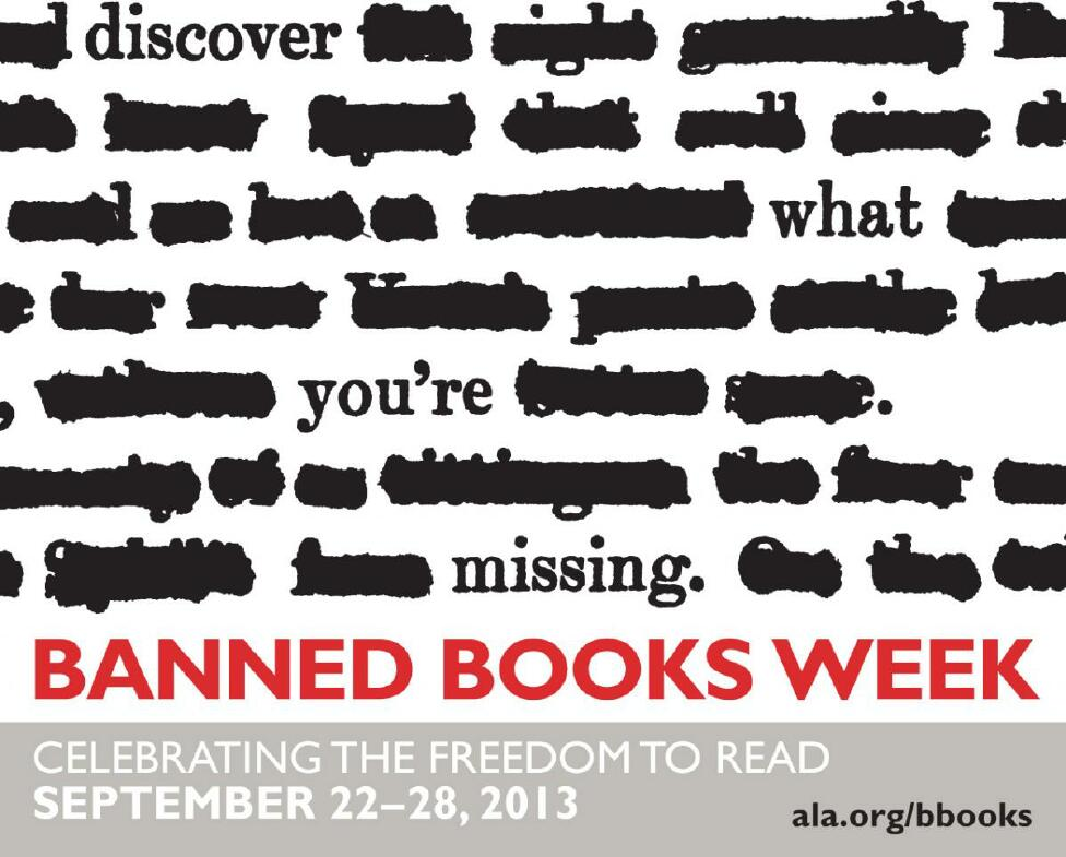 Banned Book Week Banner
