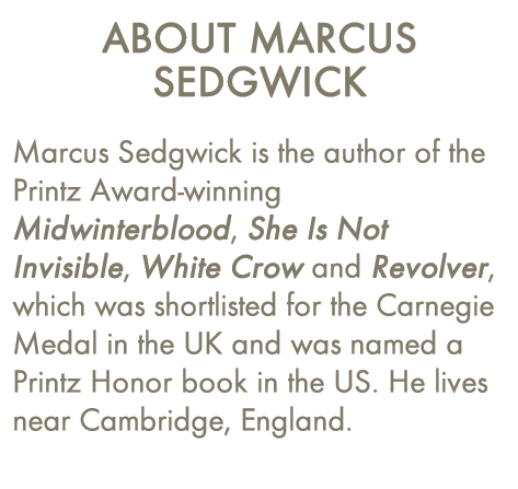 About Marcus Sedgwick