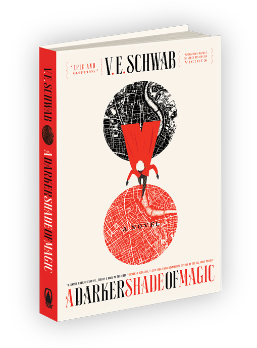 A Darker Shade of Magic hardcover