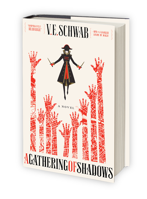 A Gathering of Shadows hardcover